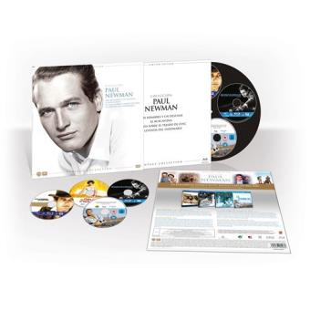 Pack Paul Newman Ed Limitada Vinilo - Blu-Ray