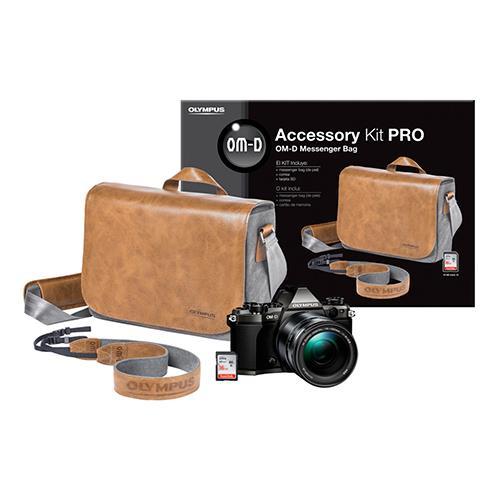 Kit de Accesorios PRO Olympus para cámaras OM-D