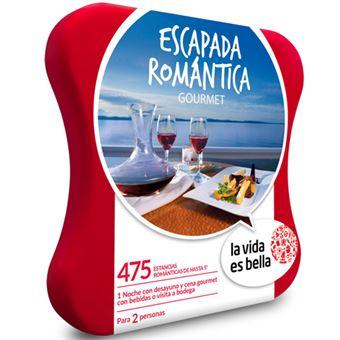 Caja Regalo La vida es bella - Escapada romántica gourmet