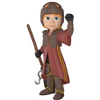 Figura Funko Rock Candy Harry Potter - Ron vestido de Quidditch