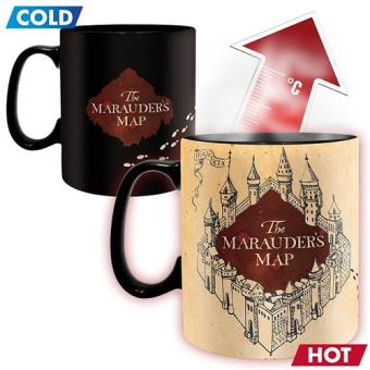 Taza termocromática Harry Potter - The Marauder's Map