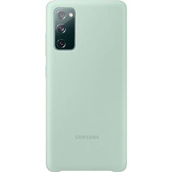 Funda de silicona Samsung Menta para Galaxy S20 FE