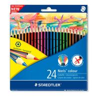 Estuche de 24 lápices de colores surtidos Staedtler Noris colour 185