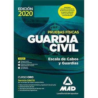 Guardia Civil Escala de Cabos y Guardias - Pruebas físicas