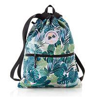 Bolsa saco con cremallera Miquelrius Tropical