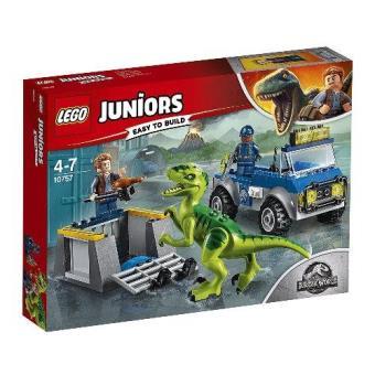 LEGO Juniors - Jurassic World Camión de rescate del Raptor
