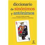 Diccionario de sinonimos y antonimo