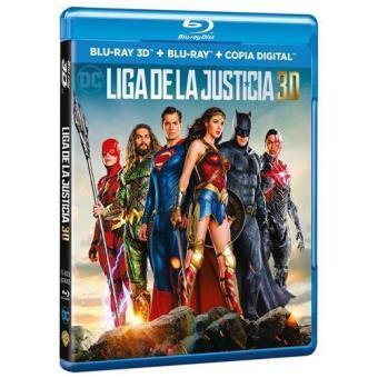 Liga de la Justicia - 3D + Blu-Ray