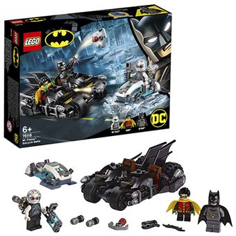 LEGO DC Super Heroes 76118 Batalla en la Batmoto contra Mr. Freeze™