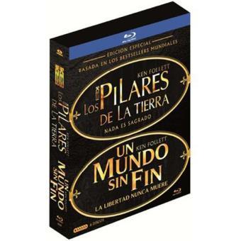 Pack Los pilares de la tierra + Un mundo sin fin  Serie Completa - Blu-Ray