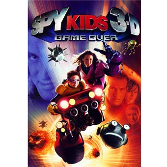 Spy Kids 3D Game Over - DVD