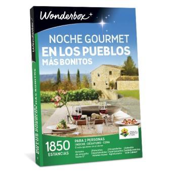 Caja regalo Wonderbox Los pueblos más bonitos noche gourmet