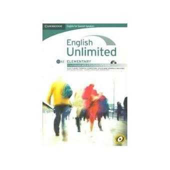 English Unlimited. Elementary A2. Coursebook with e-Portfolio DVD-Rom