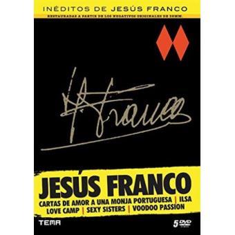 Pack inéditos Jesús Franco: Cartas de amor a una monja portuguesa, Ilsa Love Camp, Sexy Sisters, Voodo passion - DVD