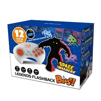 Consola Retro Blast: Space Invaders -12 juegos