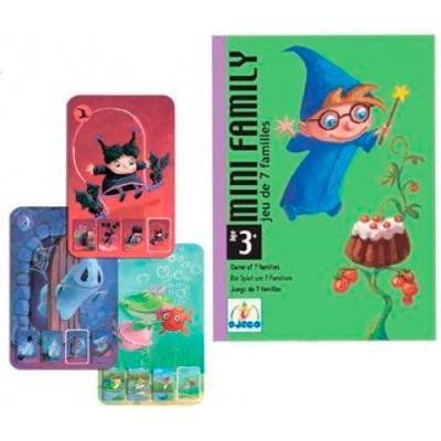 Juego De Cartas Djeco Mini Family 5 En Libros Fnac