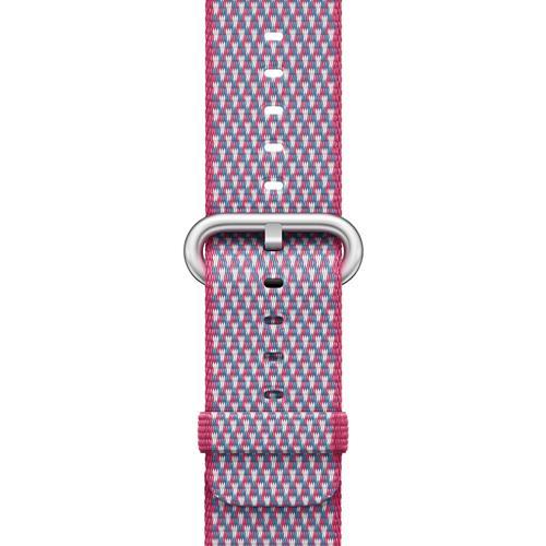 Correa Apple Watch Band Nailon trenzado cuadros Baya (42 mm)