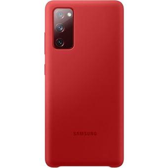 Funda de silicona Samsung Rojo para Galaxy S20 FE