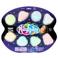 Pack Playfoam Brilla en la oscuridad 8 colores