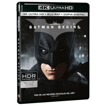 Batman Begins - UHD + Blu-Ray