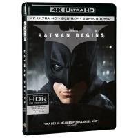 Batman Begins - UHD + Blu-Ray