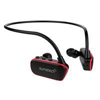 MP3 acuático Sunstech Argos 8 GB Negro/Rojo