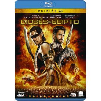 Dioses de Egipto - Blu-Ray 3D