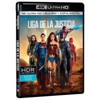 Liga de la Justicia - UHD + Blu-Ray