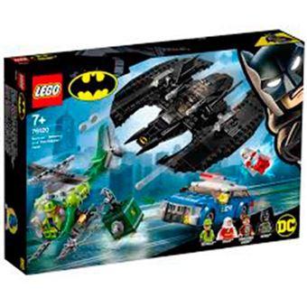 LEGO DC Super Heroes 76120 Batwing de Batman™ y el Asalto de Enigma