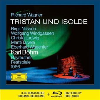 Wagner: Tristan Und Isolde - 3 CD + Blu-Ray