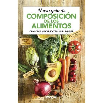 Nueva guía de composición de los alimentos