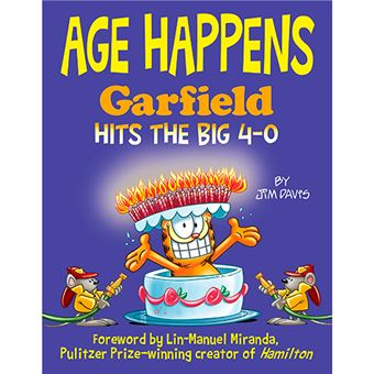 Age Happens - Garfield Hits The Big 4-0