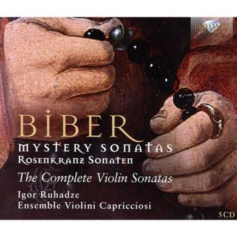 Biber. The Complete Violin Sonatas (Edición 5 CD)