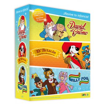 Pack Willy Fog, D'artacán y David, el Gnomo - Series Completas - DVD