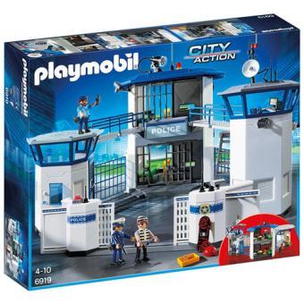 Playmobil City Action Comisaría de policía con prisión (6919)