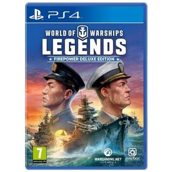 World of Warships Legends Deluxe Edition PS4
