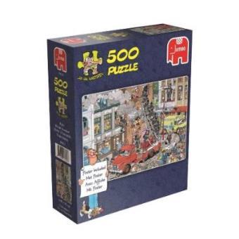 Puzzle Cómic. Fuego (500pzs)