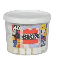 Blox. Bloque blanco (40 unidades)