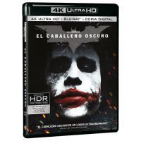 El Caballero Oscuro - UHD + Blu-Ray