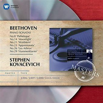 Beethoven - Popular Piano Sonatas 8, 14, 21, 23, 26, 29