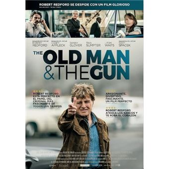 The Old Man and the Gun - Blu-Ray