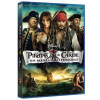Piratas del Caribe 4: En mareas misteriosas - DVD