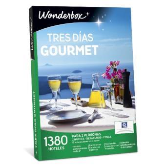 Caja Regalo Wonderbox - tres días gourmet