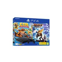 Consola PS4 Slim 1TB + Crash Team Racing + Ratchet & Clank