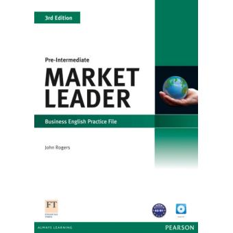 Market Leader 3rd Edition Pre-Intermediate Practice File & Practice File CD Pack