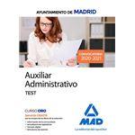 Aux administrativo ayto madrid test