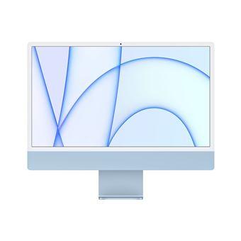 iMac con Pantalla Retina 4.5K 24'' M1 8C/8C 8/512GB Azul