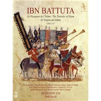 Ibn Battuta - The Traveler of Islam 1304-1377 - 2 CD + Libro
