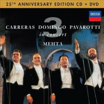 Three Tenors In Concert 25 Aniversario + DVD