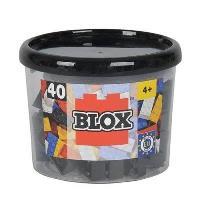Blox. Bloque negro (40 unidades)
